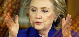 """Bride of Frankenfood"" Hillary Clinton's GMO Ties Spark Backlash in Iowa"