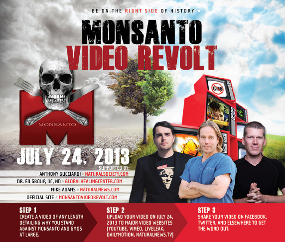 MonsantoVideoRevoltimage Monsanto Video Revolt: Massive Grassroots Campaign Launched Against GMOs, Monsanto