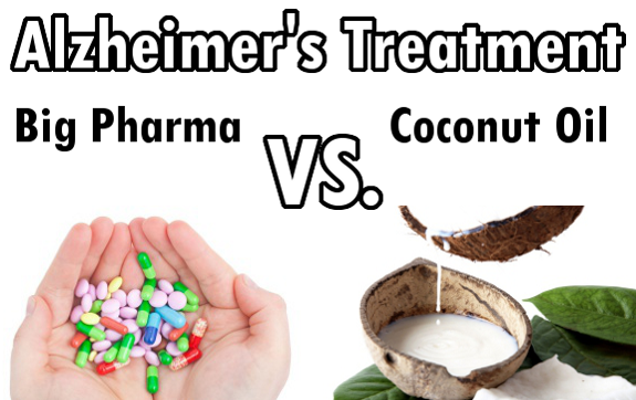 Coconut Oil Cures Alzheimer's Where Big Pharma Fails. Why No One Knows.
