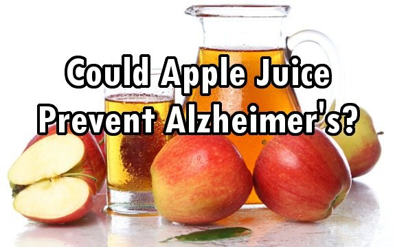 apple juice Alzheimer's