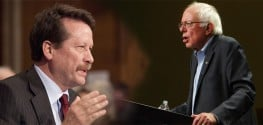 Bernie Sanders Opposes New Big Pharma-Loved FDA Leader