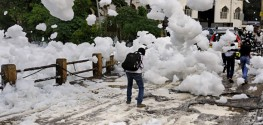 Town in India Invaded by Toxic Waste Clouds