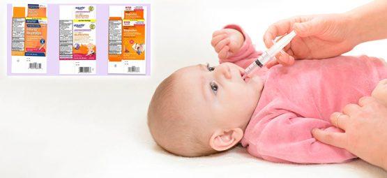 Infant Liquid Ibuprofen Recalled at Walmart, CVS, Other Retailers