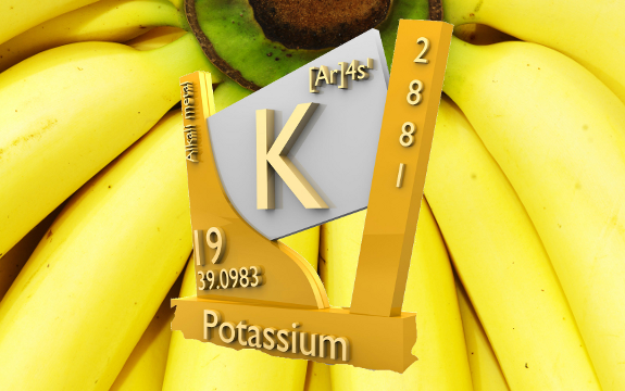 banana potassium