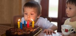 Blowing out Birthday Candles=1400% More Bacteria. Yum!