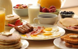 High Protein Breakfast Dampens Hunger Drive Later in the Day