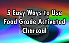 food-grade activated charcoal
