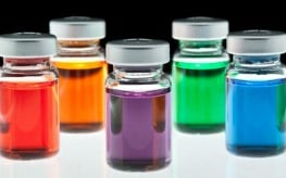 colorful chemicals