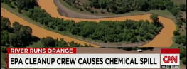 EPA Crew Accidentally Spills 3 Million Gallons of Chemical Waste Water into River