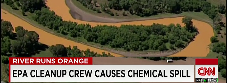 EPA Crew Accidentally Spills 3 Million Gallons of Chemical Waste