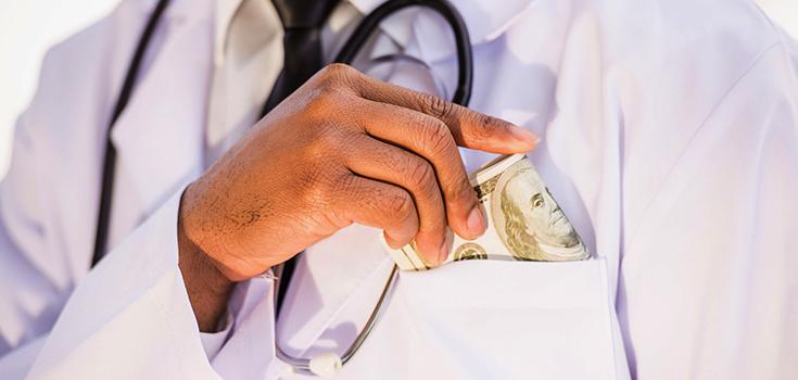 doctor bribe