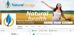 Grassroots: Natural Society Reaches Beyond 209,000 Followers on Facebook