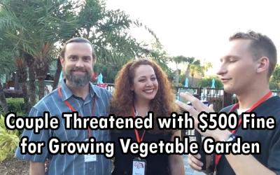 Florida couple garden fine