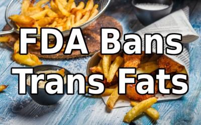 trans fat ban