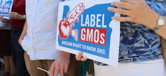 gmo labeling oregon sign