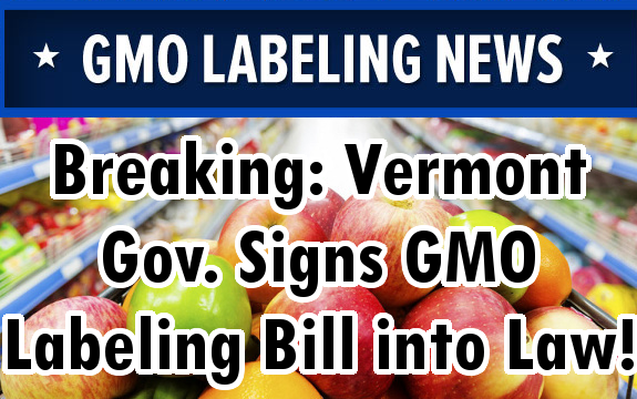 Vermont gmo labeling bill