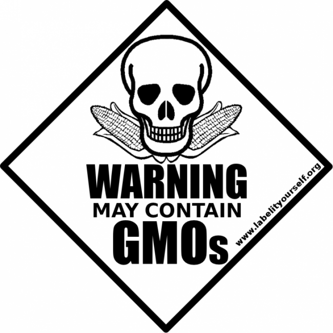 gmo labeling sticker