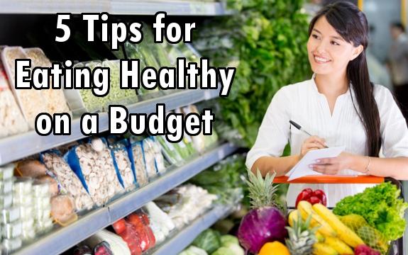 eating helathy budget
