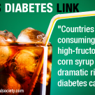 Study: High-Fructose Corn Syrup Causing Diabetes, US Citizen Eats 55 Lbs Per Year