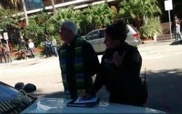Video: Police Detain 90-Year-Old Priest for Feeding Homeless