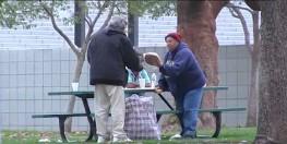Homeless Man Spends $100 Donation on Feeding Other Homeless