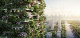 China Is Building Vertical Forests in Nanjing to Fight Pollution