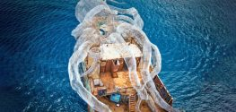 Eco Artists Build Interactive Dive Site that Doubles as Artificial Coral Reef