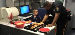 5-Year-Old Boy Buys Police Sandwiches with Allowance Money