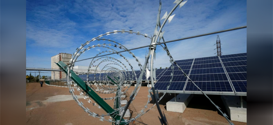 Chernobyl Nuke Site in Ukraine is Transformed into Solar Farm