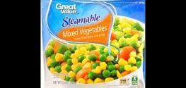 Great Value and Bountiful Harvest Frozen Veggies Recalled Due to Listeria
