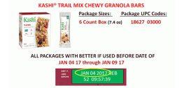 Kashi Recalls Bars over Sunflower Seed-Listeria Link