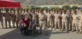 Boy With Rare Disease Becomes Honorary Marine