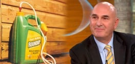 "Audio: Monsanto CEO Hugh Grant Says ""Roundup is Not a Carcinogen"""
