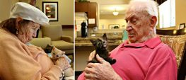 Orphaned Kittens Find Love in the Arms of Senior Citizens