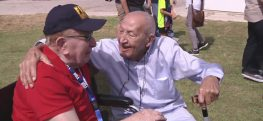 Holocaust Survivor and Veteran Reunite After 71 Years