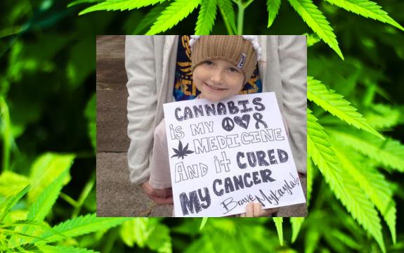 marijuana girl