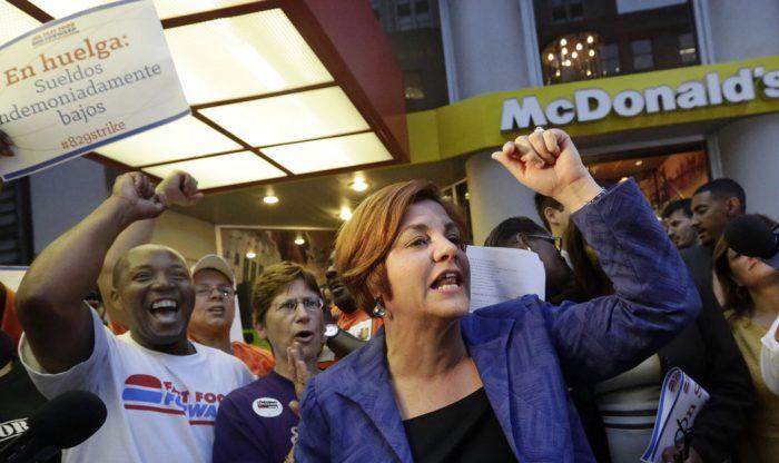McDonald's wage war