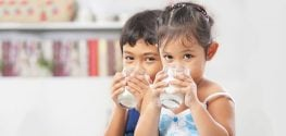 Toddlers who Drink Non-Cow's Milk may be Shorter than Their Peers