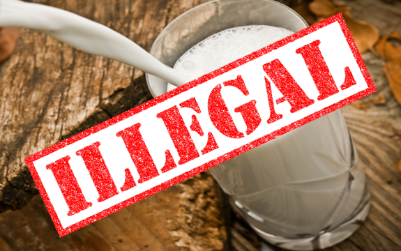 illegal milk