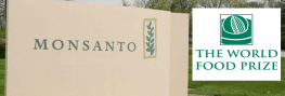 Monsanto Exec Gets 'Nobel Peace Prize' of Food