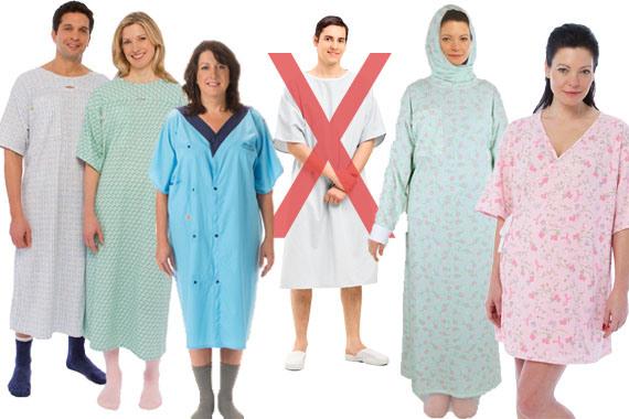 Even hospitals gown contain PFAS