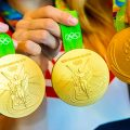 Olympic medals.