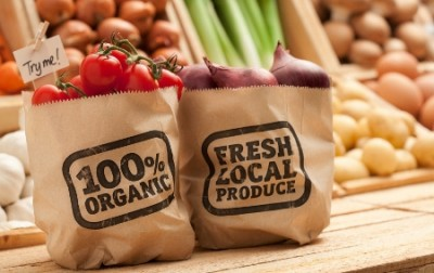 organic, local food