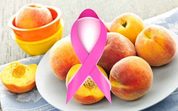 peaches breast cancer
