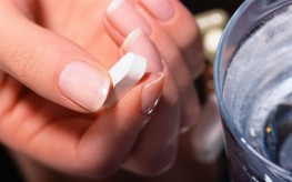 pill being taken