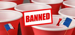 France bans plastic cups and plates