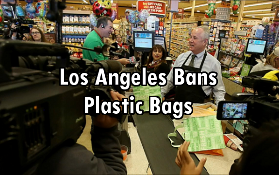 los angeles plastic bags