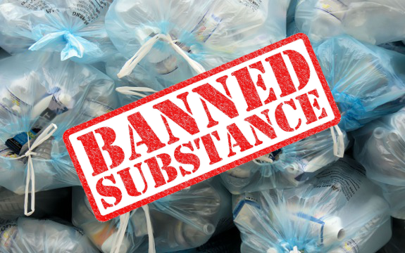 plastic banned