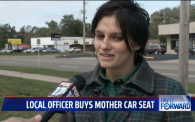 cop buy mom car seat