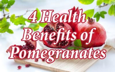 pomegranates benefits